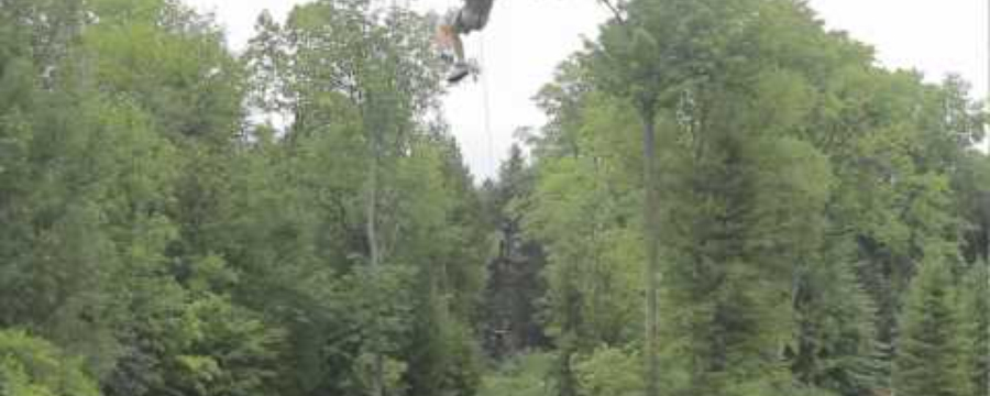 Visiting Treetop Eco-Adventure Park in Oshawa, ON
